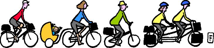 Le Randonneur - revue de randonnées à vélo