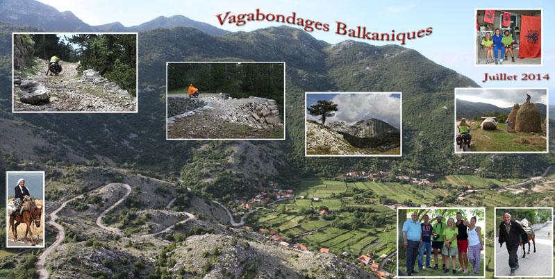Photos de voyages à vélo dans les Balkans