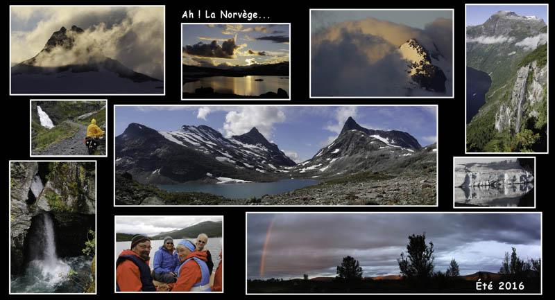 Photos de voyages à vélo en Norvège