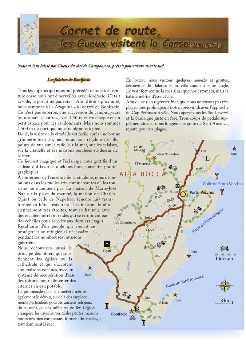 Les Gueux visitent la Corse