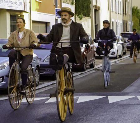 Paris-Rouen à vélocipède