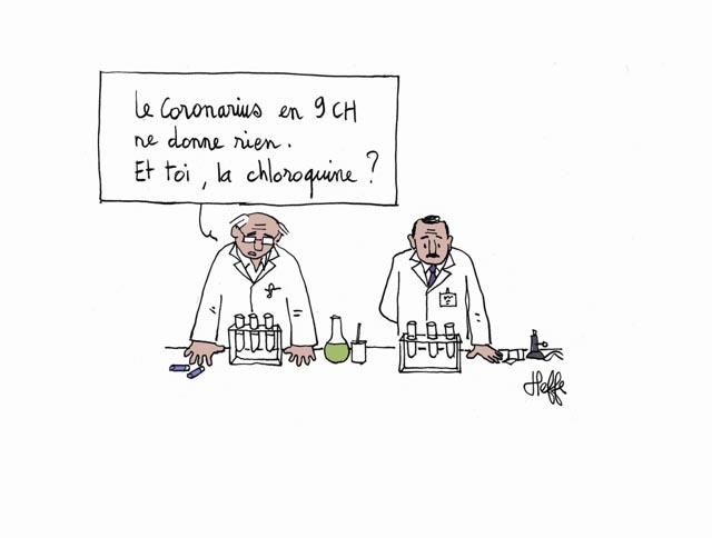 Boiron vs chloroquine