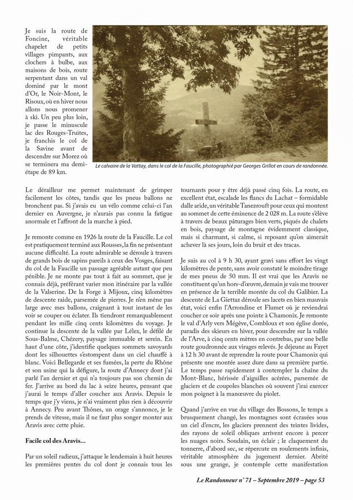 Cyclotourisme - Sur la route des cols
