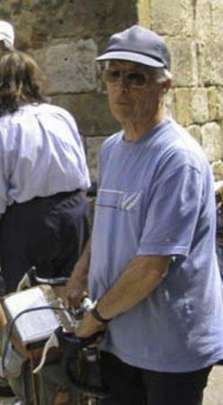 Abel Lequien à Monpazier en 2004