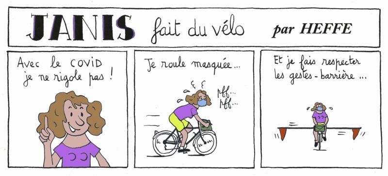 Heffe - Janis fait du vélo